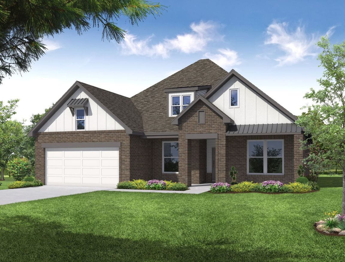 Ready To Build Home In The Villas at Emerald Falls Community