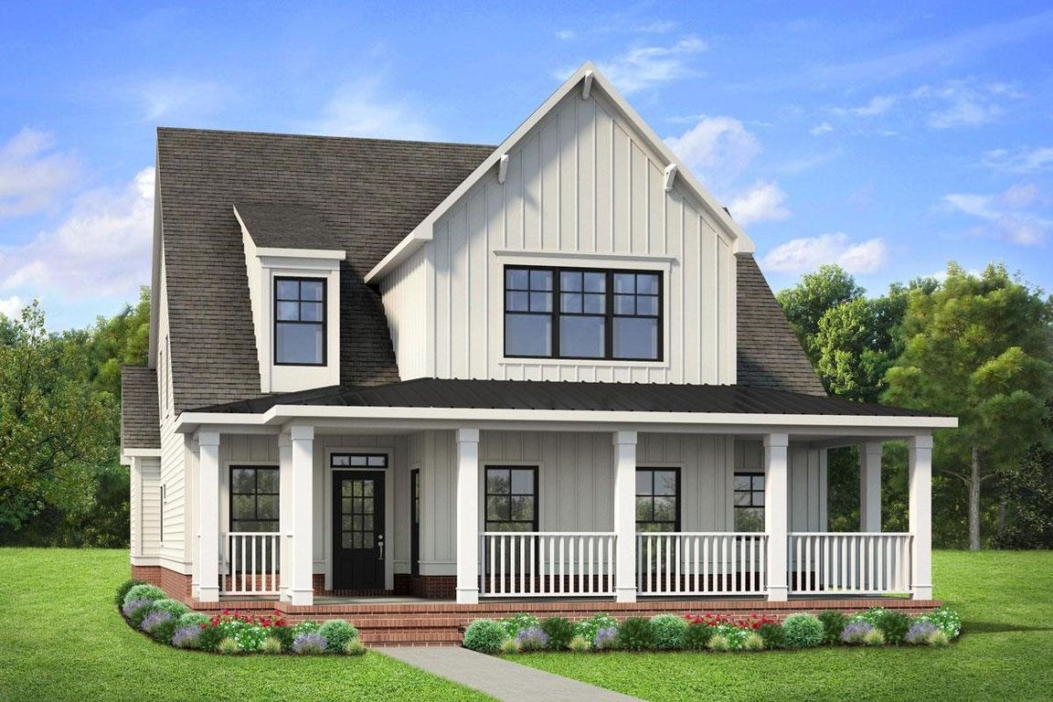 Ready To Build Home In Brush Arbor Community