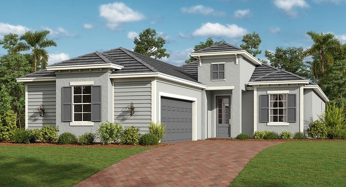 Ready To Build Home In Babcock National - Executive Homes Community