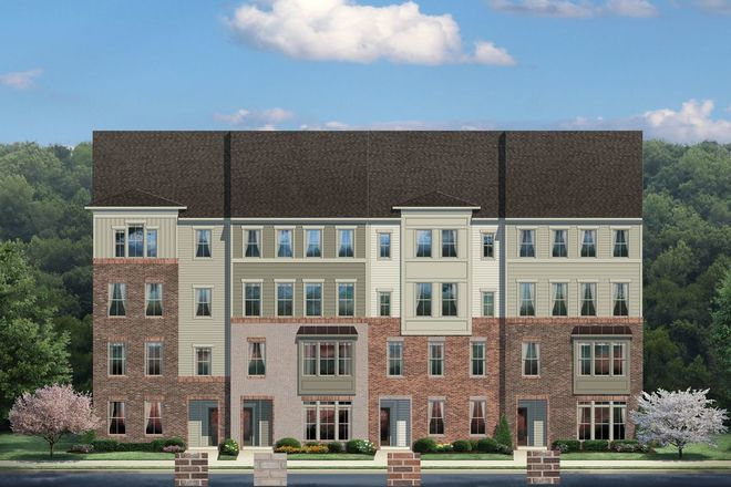Ready To Build Home In Arcola Town Center 2-Level Condos Community