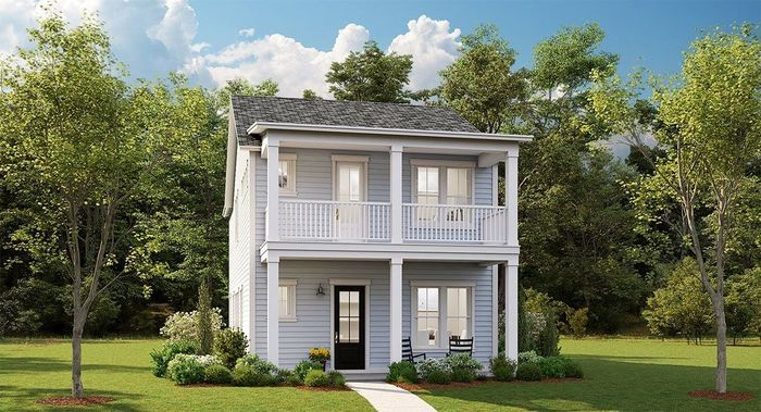 Ready To Build Home In Summers Corner - The Village - Row Collection Community