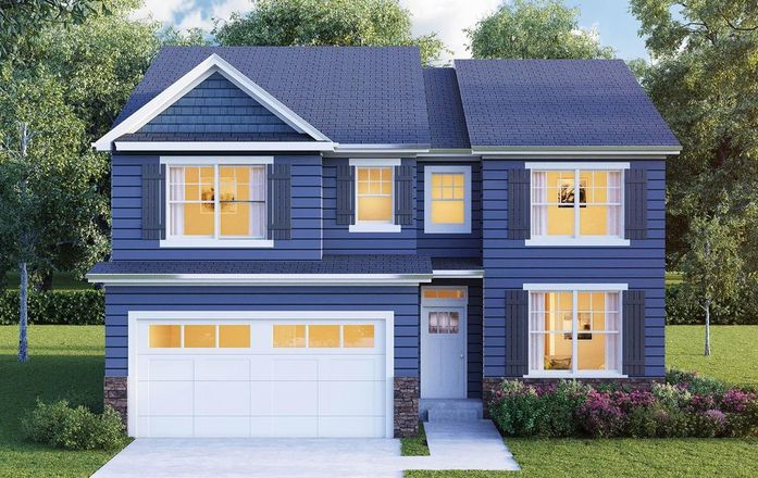 Ready To Build Home In Shorewood Towne Center Community