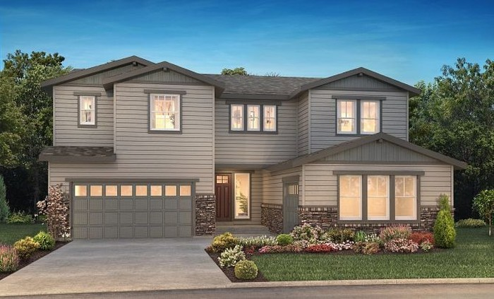 Ready To Build Home In Luxe at The Canyons Community