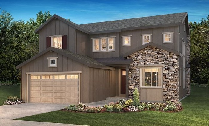 Ready To Build Home In Gallery at The Canyons Community