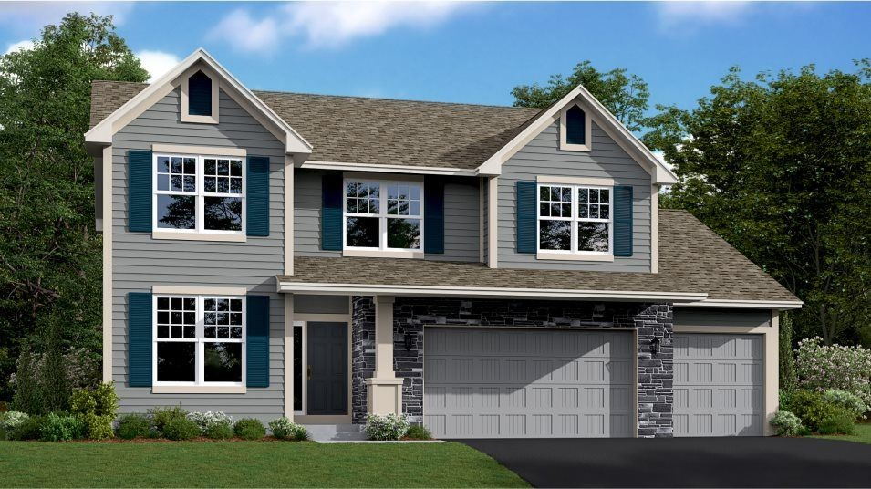 Ready To Build Home In Laketown - Landmark Collection Community