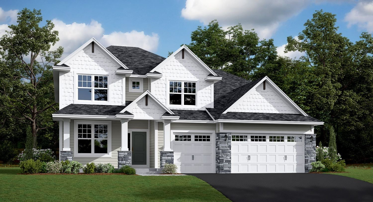 Ready To Build Home In The Park - Landmark Collection Community