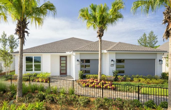 Ready To Build Home In Del Webb eTown Community