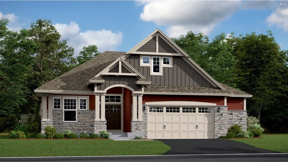 Ready To Build Home In The Park - Enclave Villa Collection Community