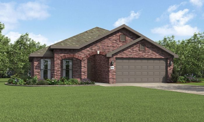 Ready To Build Home In Upland Crossing Community