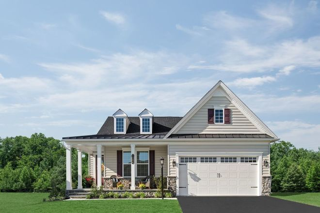 Ready To Build Home In The Woodlands at Greystone 55+ Community