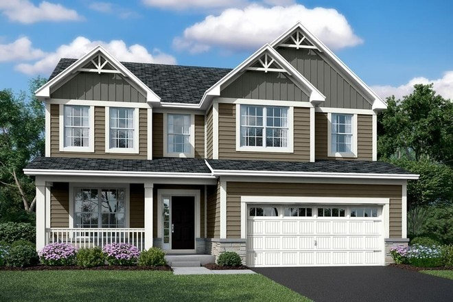 Ready To Build Home In Chatham Square Community