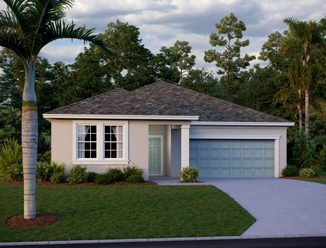 Ready To Build Home In Sunbrooke Community
