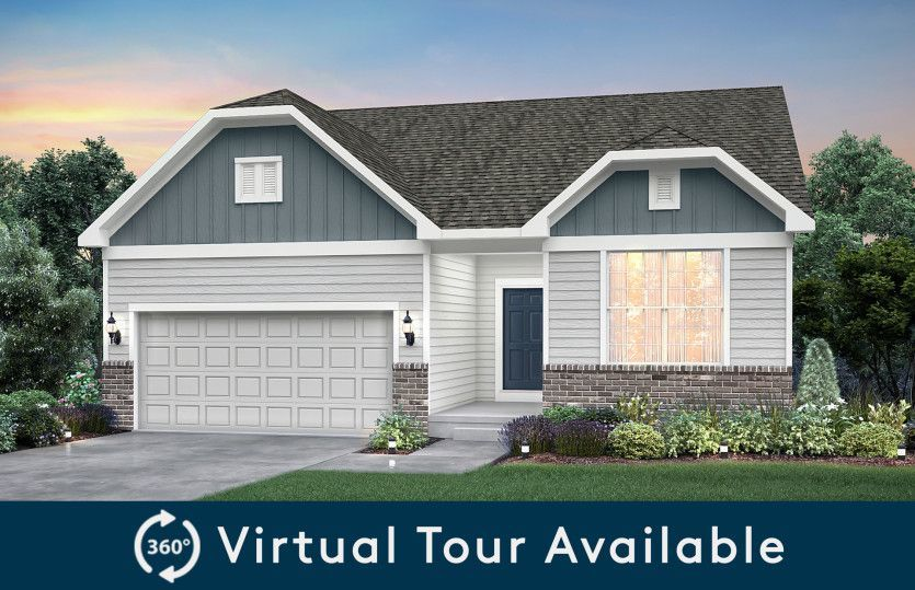 Ready To Build Home In Belle Arbor Community