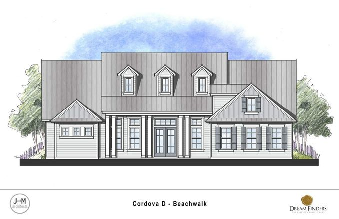 Ready To Build Home In Beachwalk Community