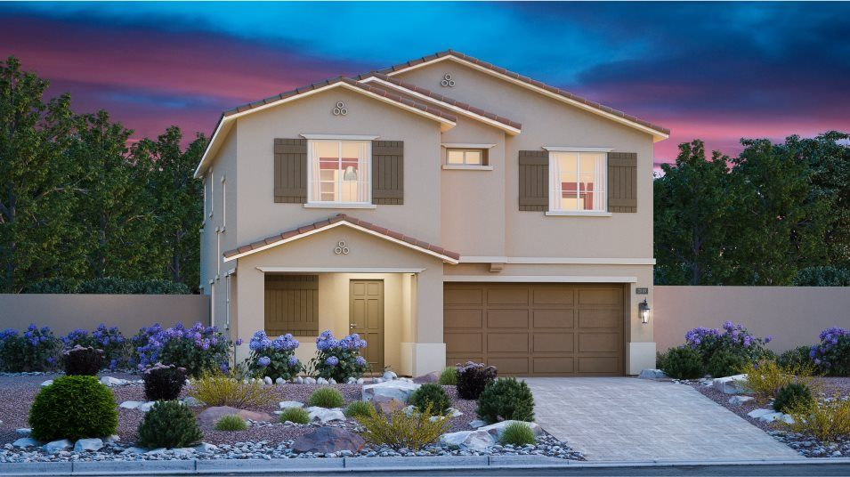 Ready To Build Home In Mira - Mesa Community