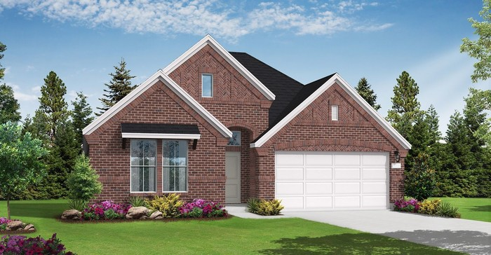Ready To Build Home In Cane Island 55' Homesites Community