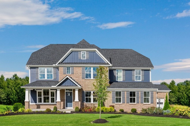 Ready To Build Home In Carriage Trails 2-Story Community
