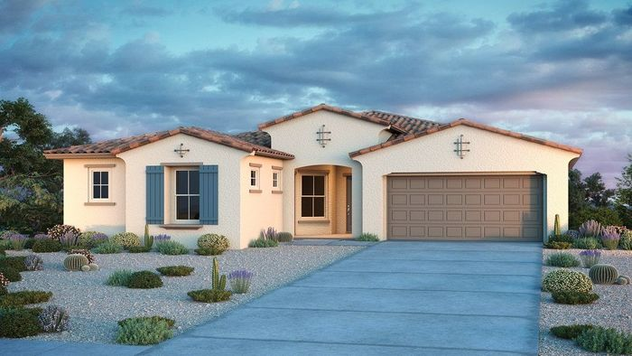 Ready To Build Home In Estates at Eastmark Venture II Collection Community