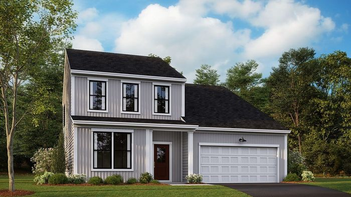 Ready To Build Home In Glenbrook At Foothill Crossing Community