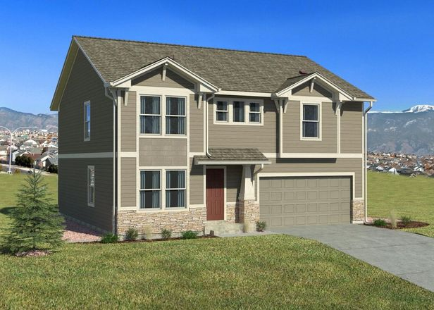 Ready To Build Home In Branding Iron at Sterling Ranch Community