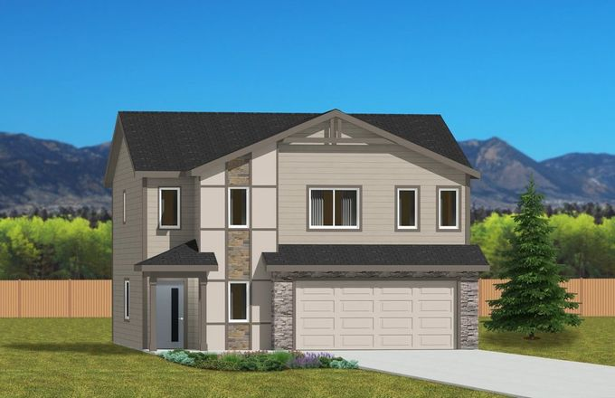 Ready To Build Home In Patriot Park Community
