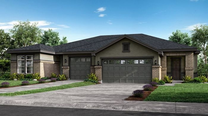 Ready To Build Home In Sterling Ranch - Patio Villas Community