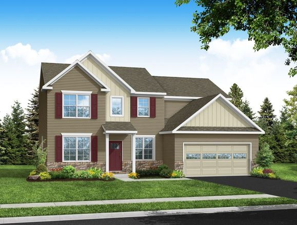 Ready To Build Home In Woodland Hills Community