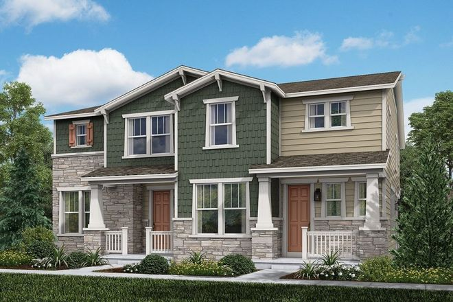 Ready To Build Home In Painted Prairie Villas Community