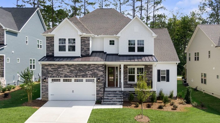 Ready To Build Home In Banks Pointe Community