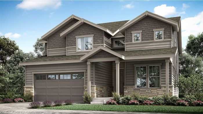 Ready To Build Home In Palisade Park - The Monarch Collection Community