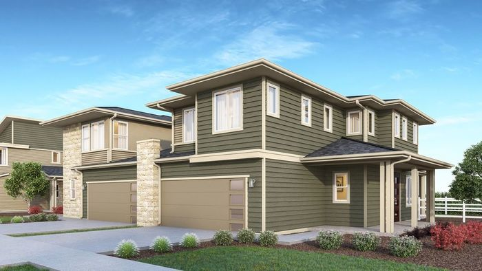 Ready To Build Home In Wagons West Villas Community