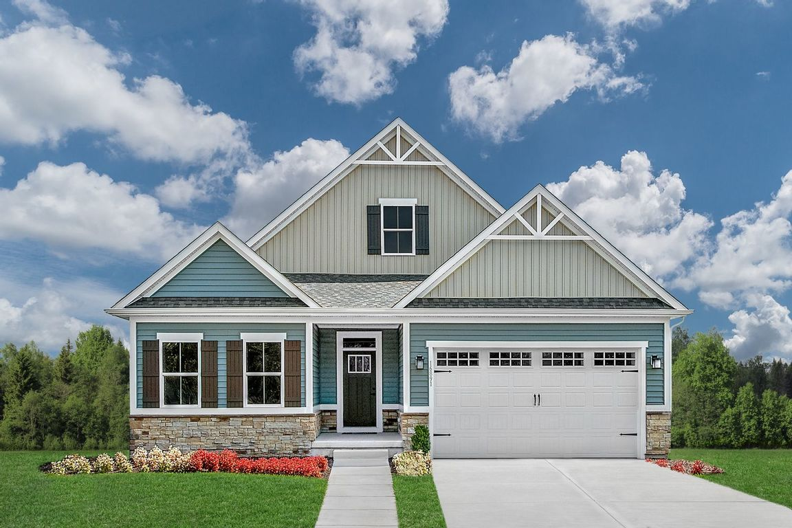 Ready To Build Home In Cottage Green Community