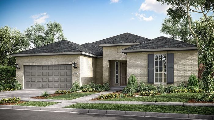 Ready To Build Home In Bonterra at Cross Creek Ranch 60s Community