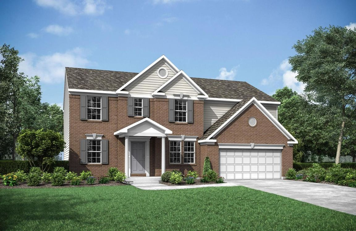 Ready To Build Home In Wildcat Run Community