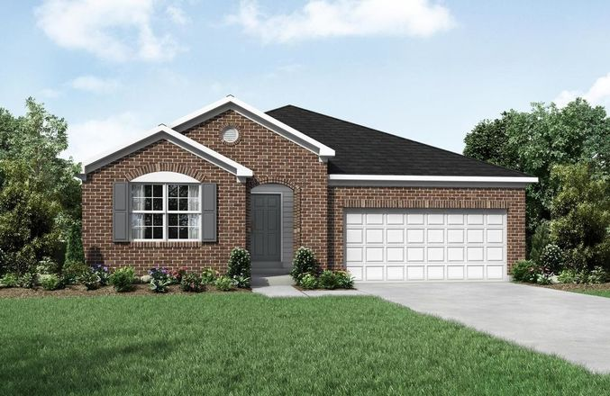 Ready To Build Home In Woods at Lakefield Community