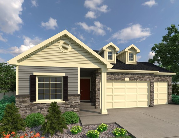 Ready To Build Home In Thompson River Ranch Community