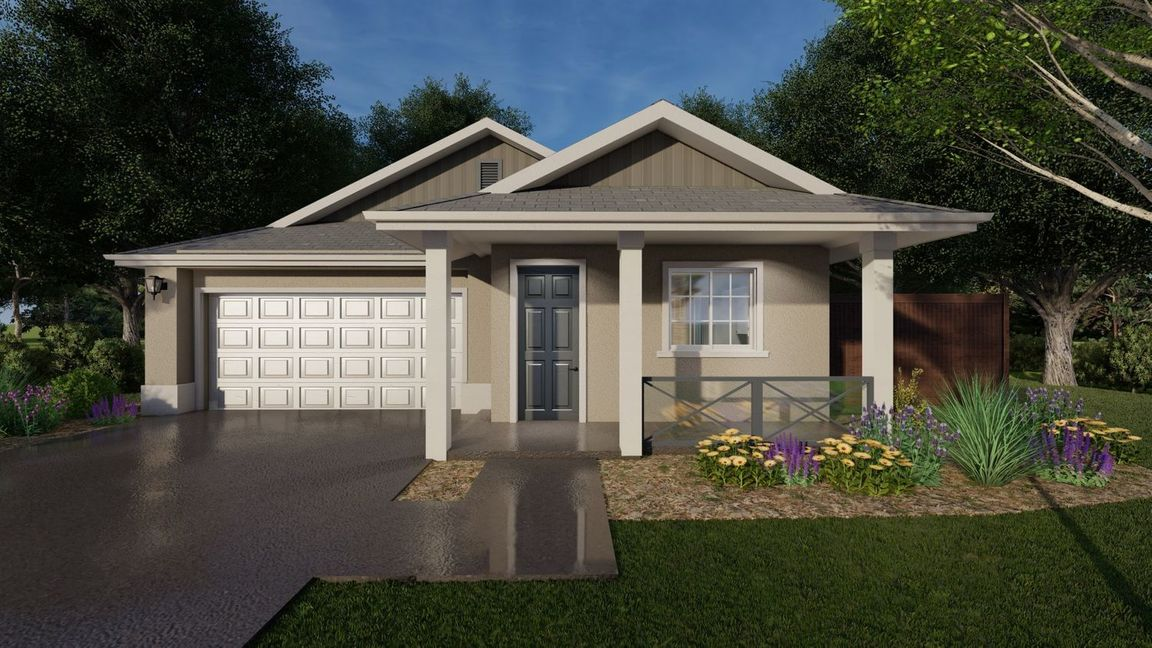 Ready To Build Home In Meadow Brook Ranch Community