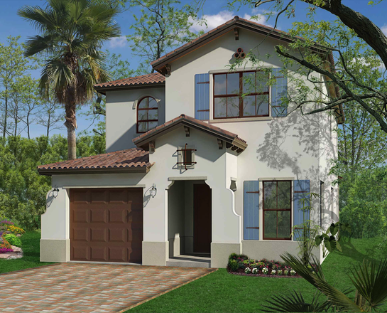 Ready To Build Home In Maple Ridge at Ave Maria Community