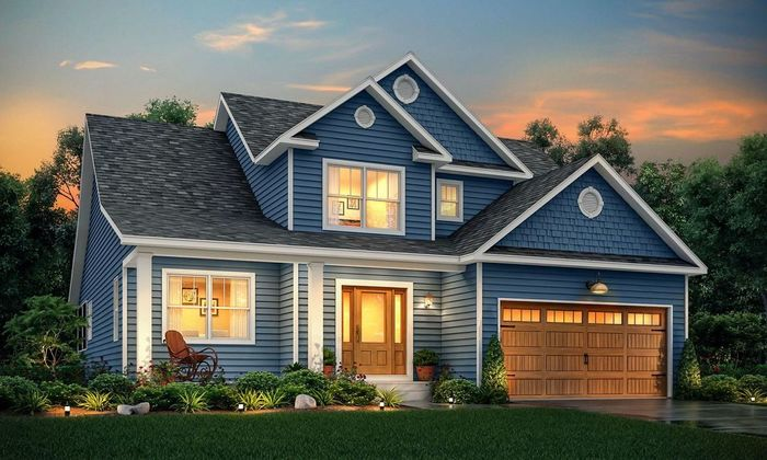Ready To Build Home In Timbercrest Builders Community