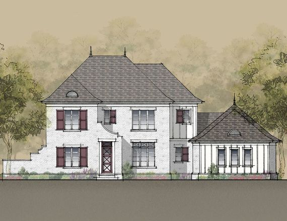 Ready To Build Home In Serenade Community