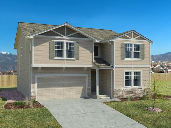 Ready To Build Home In The Enclaves at Mountain Vista Single Family Homes Community
