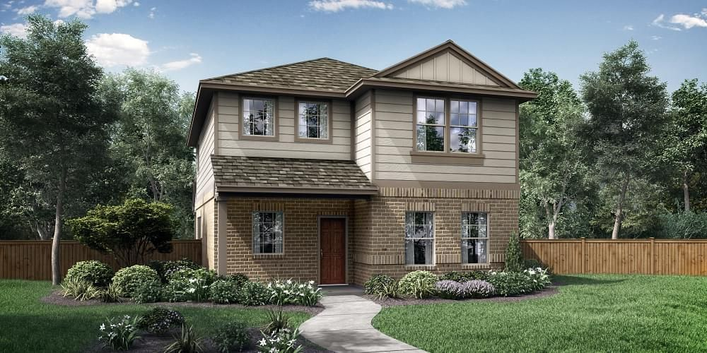 Ready To Build Home In Saddle Creek Community