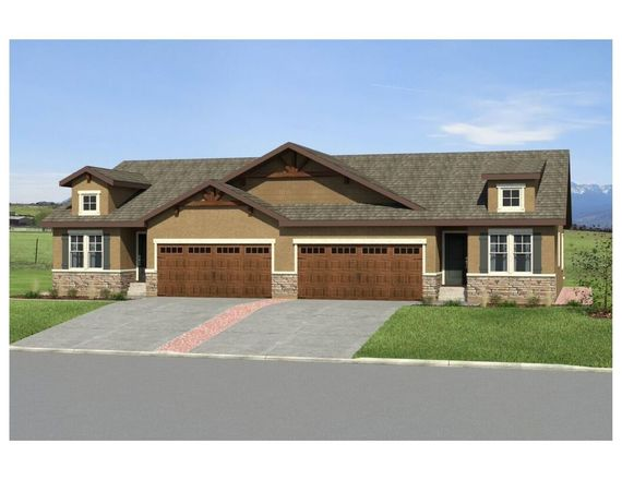 Ready To Build Home In Mountain Vista Luxury Paired Patio Homes Community