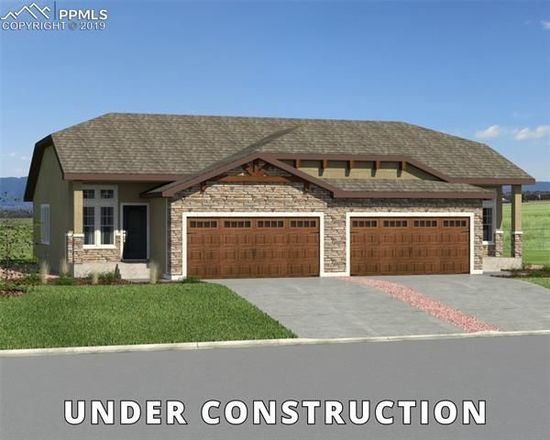 Move In Ready New Home In Mountain Vista Luxury Paired Patio Homes Community
