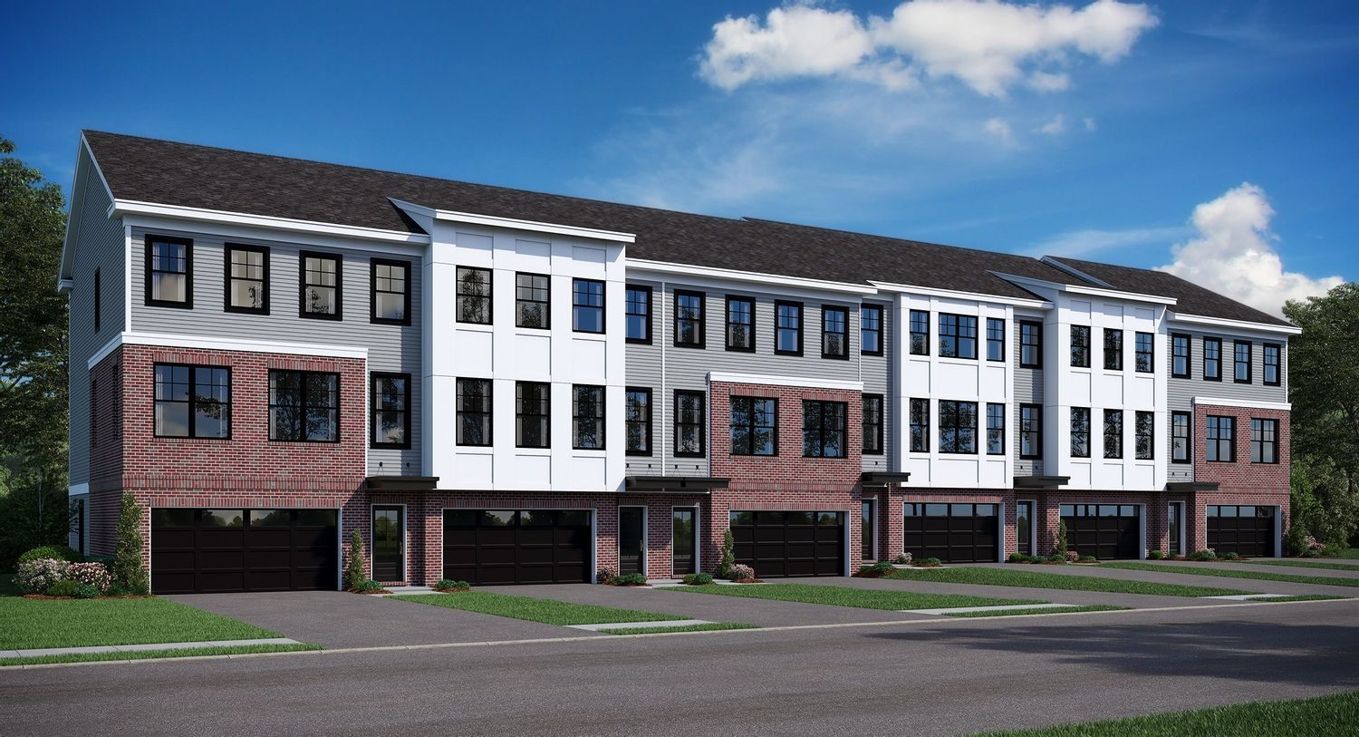 Ready To Build Home In Patriots Square by LENNAR - Patriot Square 3-Story Townhomes Community