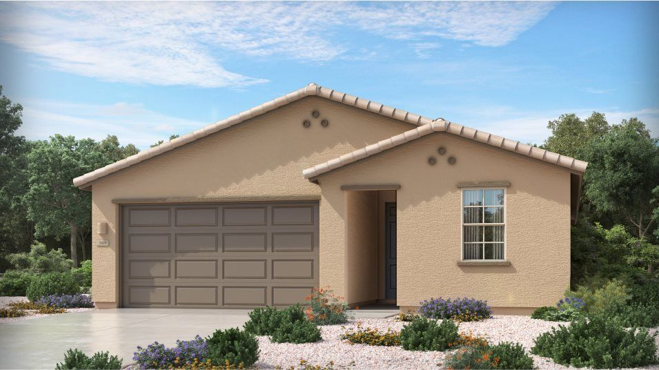 Ready To Build Home In Mountain Vista Ridge 35s Collection Community