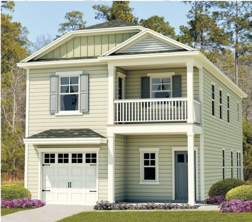 Ready To Build Home In Bradley Point South Community