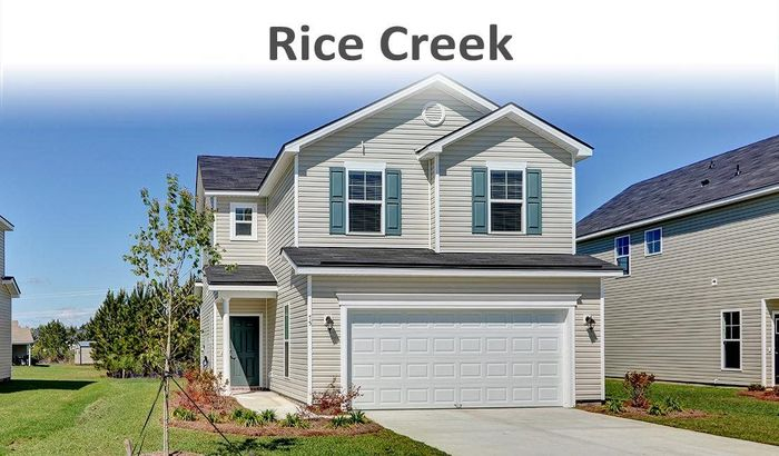 Move In Ready New Home In Rice Creek Community