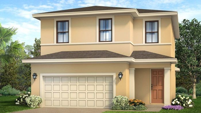 Ready To Build Home In Vizcaya Falls Community