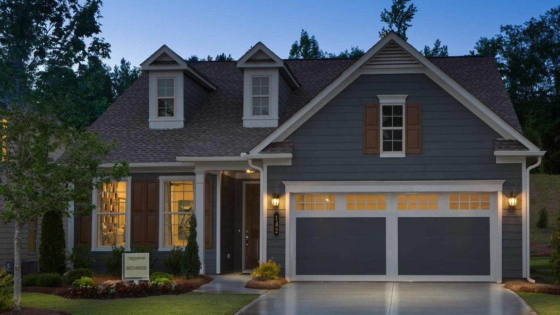 Ready To Build Home In Cresswind Peachtree City Community